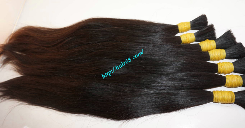 12 inch real human hair extensions 3
