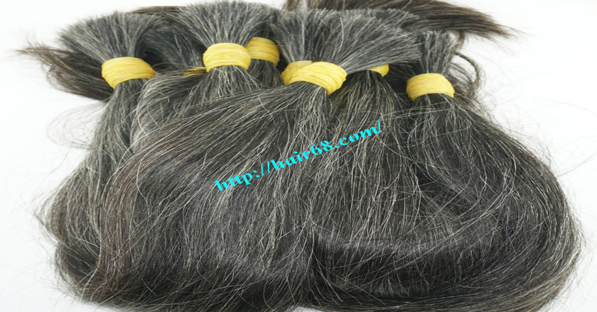 14 inch grey hair color vietnam hair 1