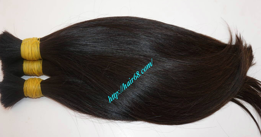 14 inch virgin human hair 3