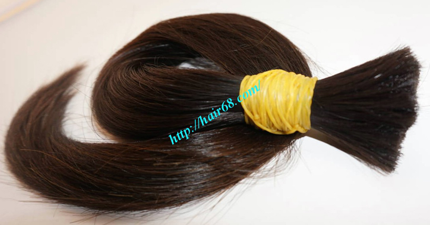 14 inch virgin human hair 4