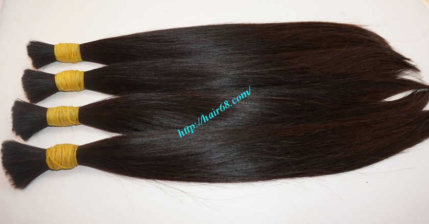 14 inch virgin human hair 5