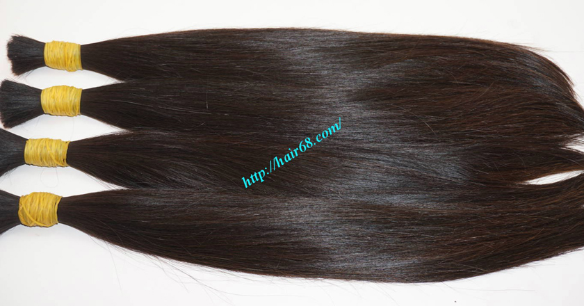 14 inch virgin human hair 6