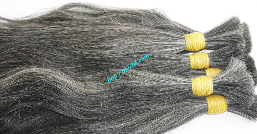16 inch grey hair extensions sale 7