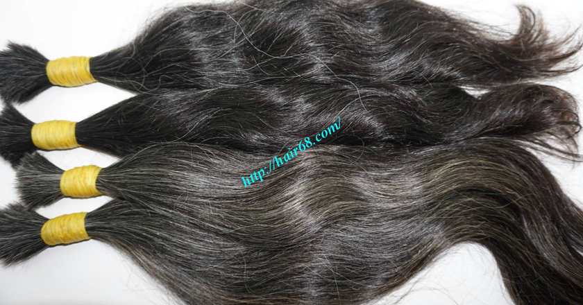 16 inch grey hair extensions 3