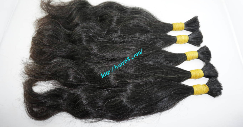18 inch grey hair color 2