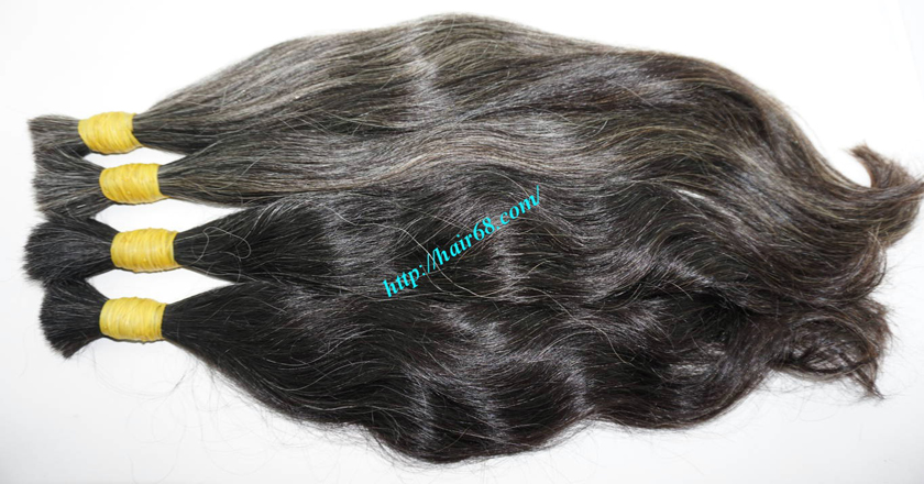 18 inch grey hair color 3