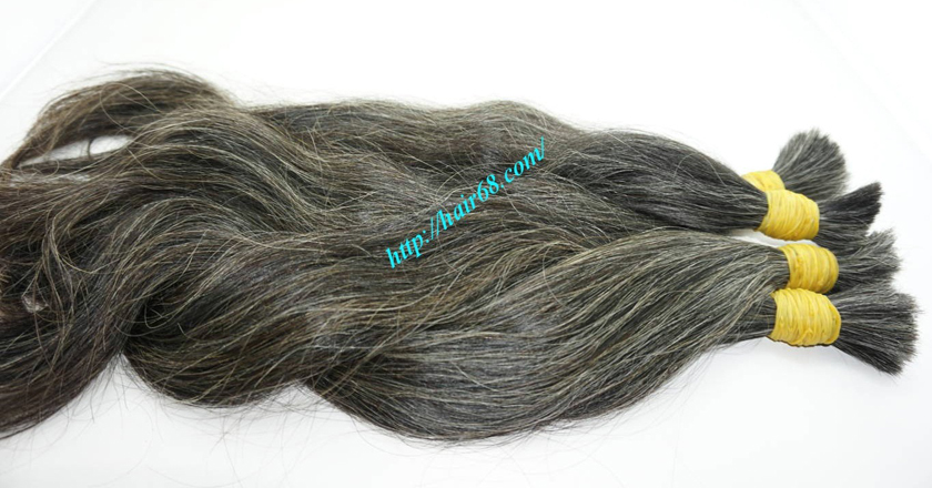 best grey hair extensions 2