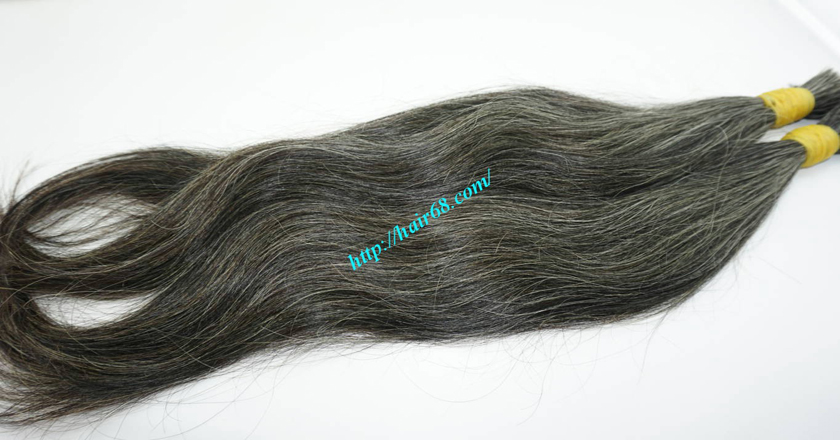 best grey hair extensions 3