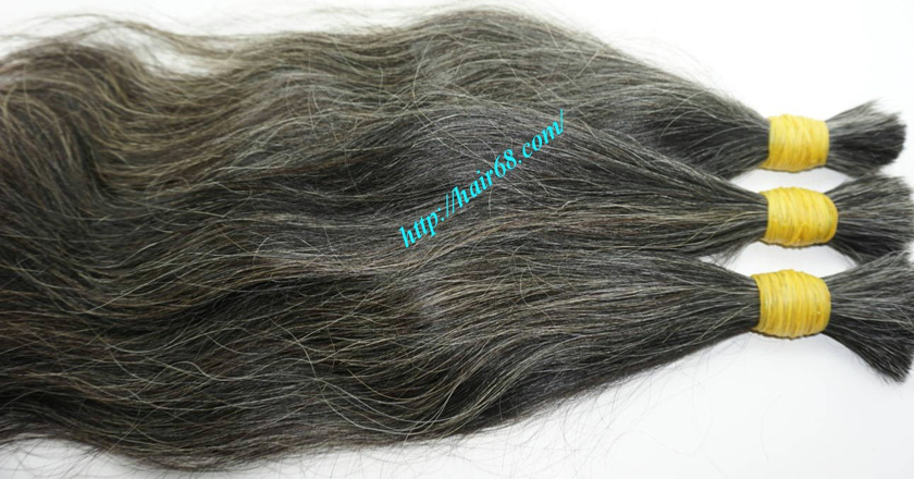best grey hair extensions 4