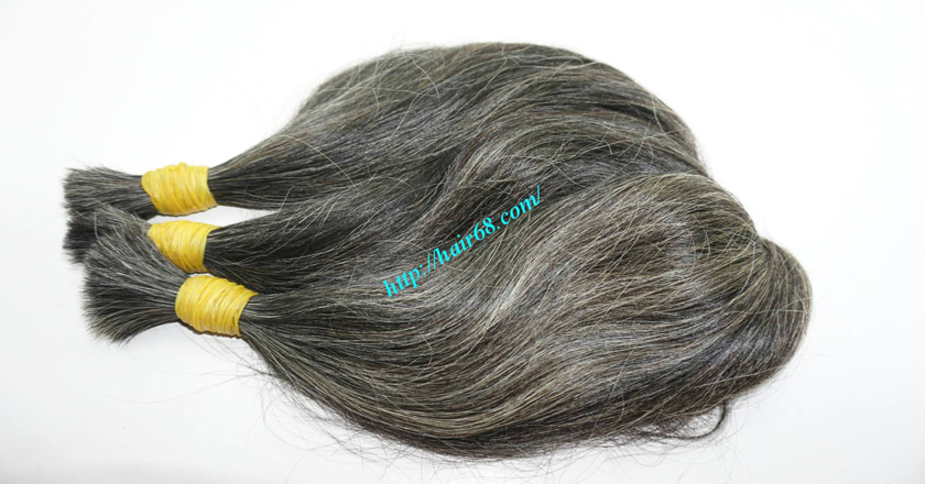 best grey hair extensions 7