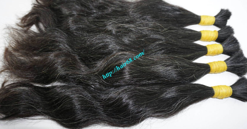 20 inch grey hair extensions 3