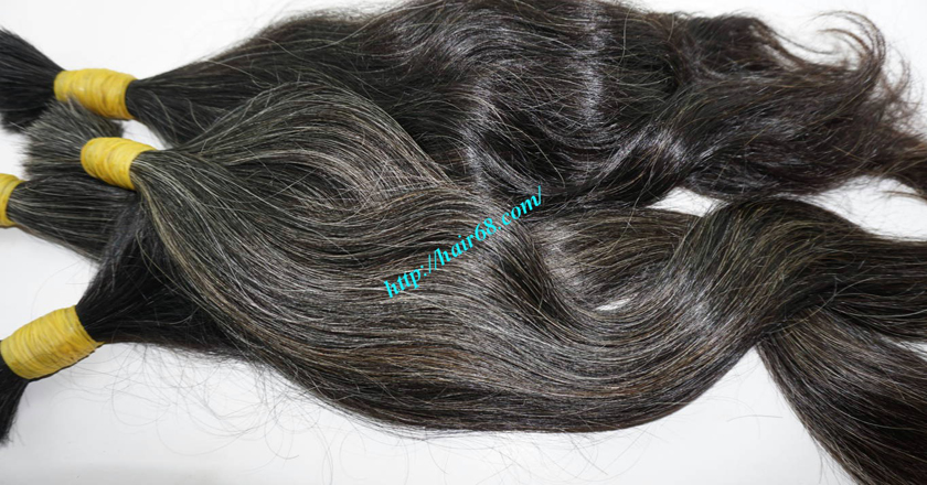 20 inch grey hair extensions 6