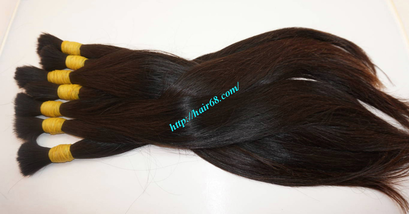 100 human hair extensions 6