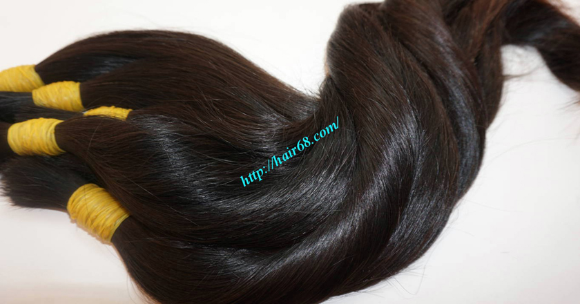 100 human hair extensions 7