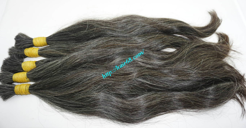 22 inch buy grey hair extensions 8