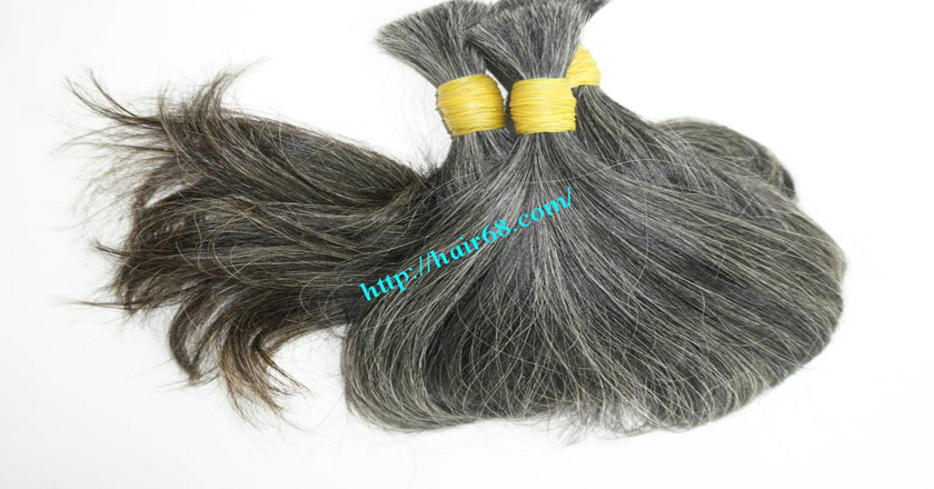 hair extensions for gray hair 3