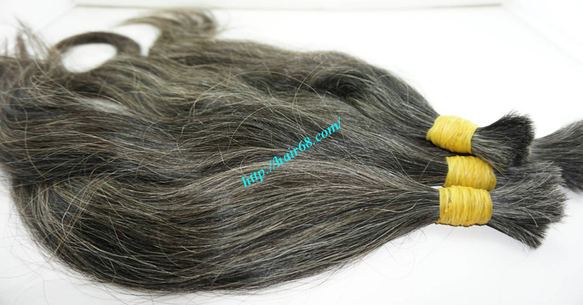 hair extensions for gray hair 4