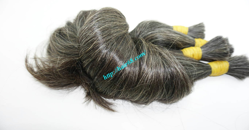 hair extensions for gray hair 5