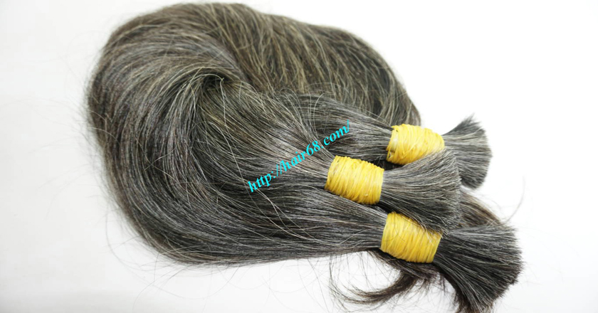 hair extensions for gray hair 7