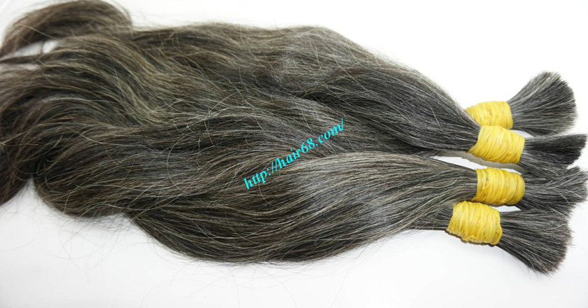 hair extensions for gray hair 8
