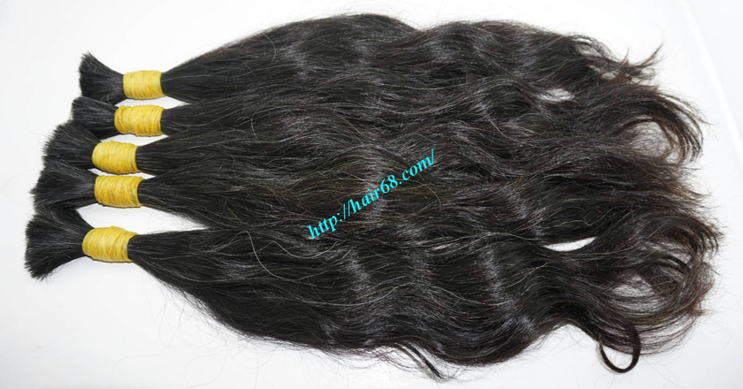 gray hair extensions 17