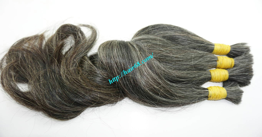 26 inch gray hair extensions 7