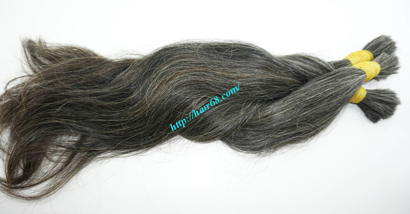 grey hair extensions online 4