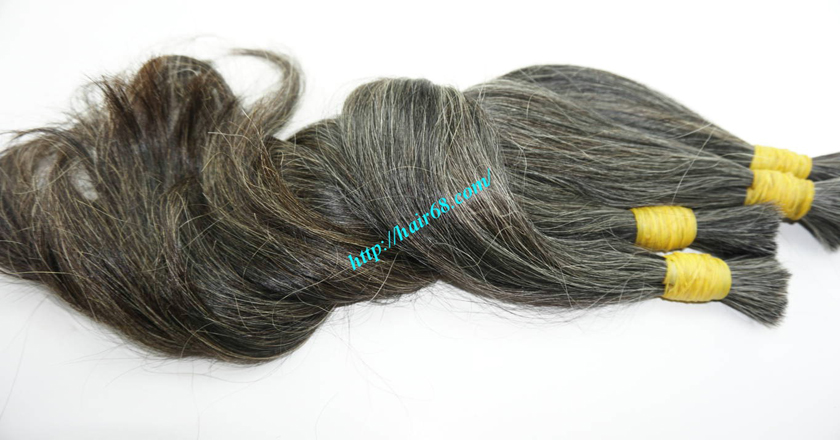 grey hair extensions online 7