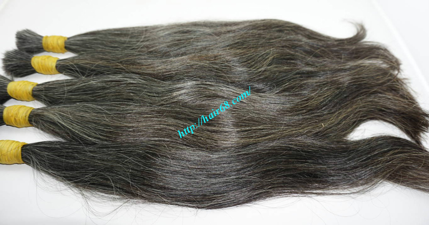 grey hair extensions online 8