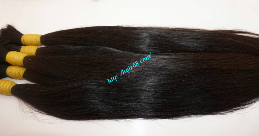 26 inch cheap real hair extensions 2