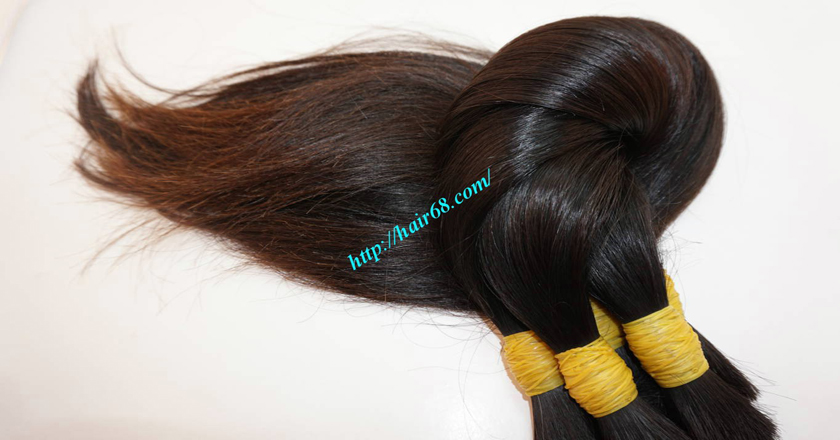 26 inch cheap real hair extensions 4