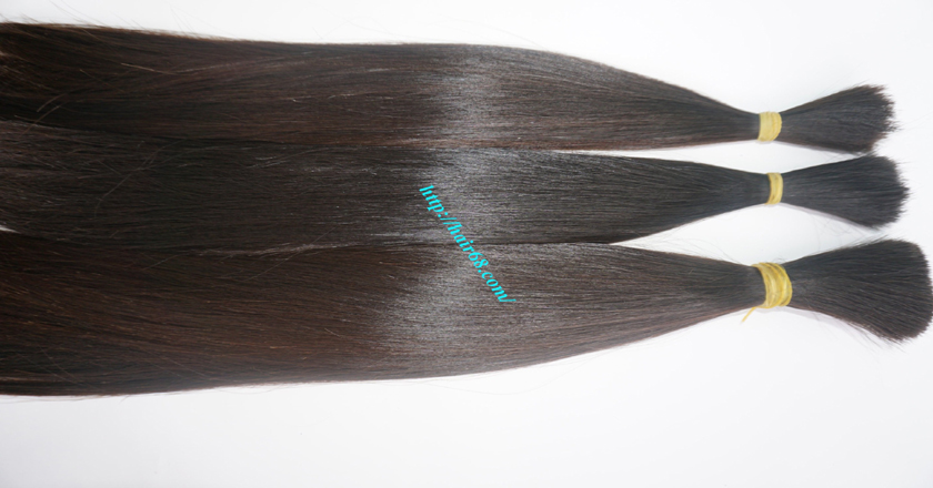 virgin human hair extensions 1