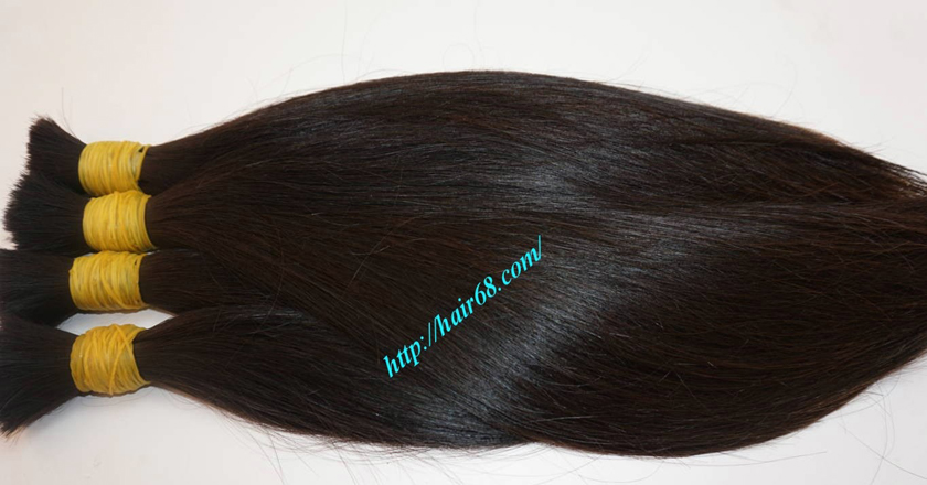 virgin human hair extensions 3