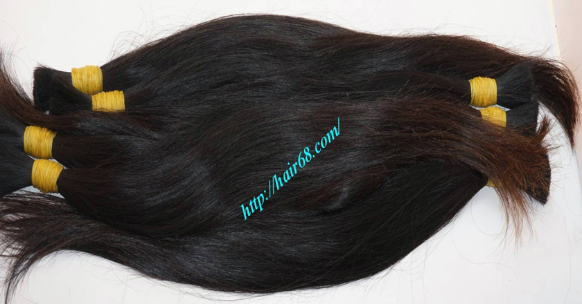 100 thick human hair extensions 6
