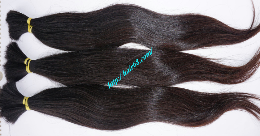 8 inch thick human hair extensions 2