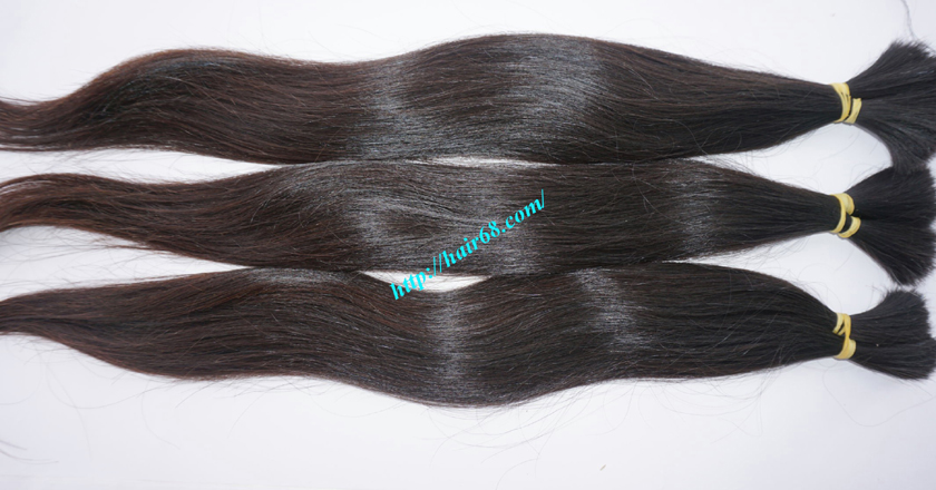 8 inch thick human hair extensions 4
