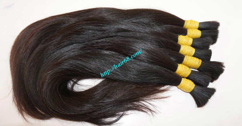 8 inch thick human hair extensions 6