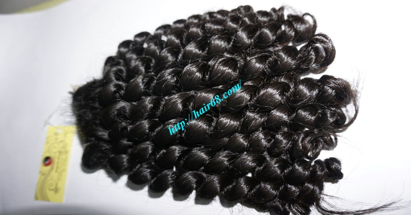 10 inch Cheap Curly Hair Weave Extensions 2
