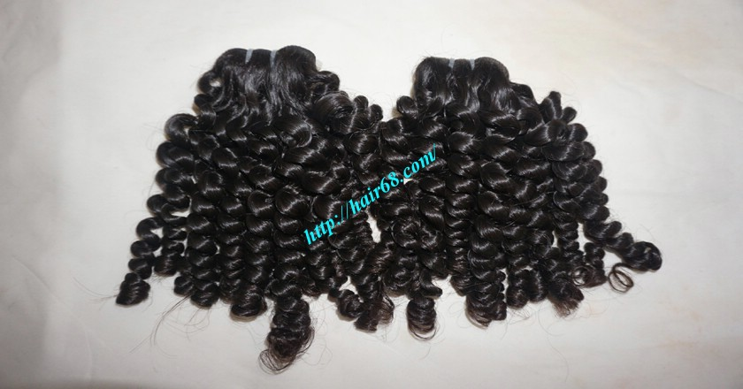 10 inch Cheap Curly Hair Weave Extensions 7