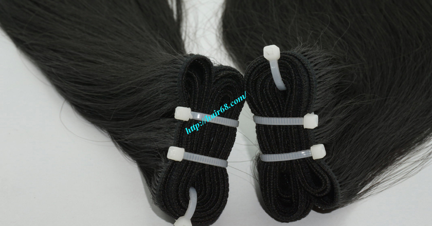 10 inch Human Hair Weave Straight 1