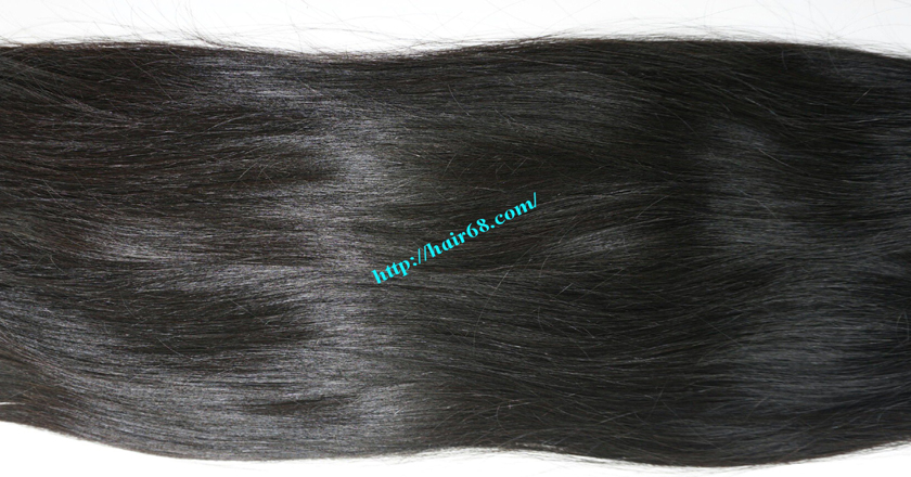 10 inch Human Hair Weave Straight 3