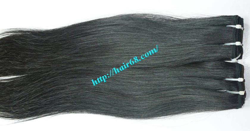 10 inch Human Hair Weave Straight 5