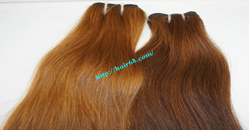 10 inch Human Hair Weave Straight 6