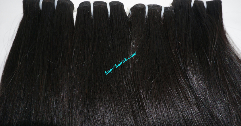 10 inch Human Hair Weave Straight 8