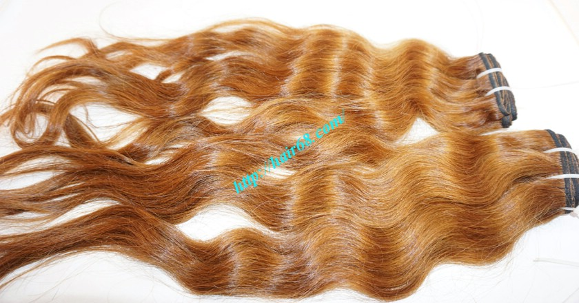 10 inch Wavy Hair Weaves Extensions - Steam Wavy 2