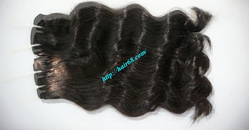 10 inch Wavy Hair Weaves Extensions - Steam Wavy 3