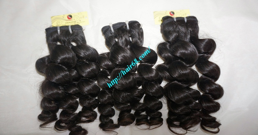 10 inch Wavy Hair Weaves Extensions - Steam Wavy 4
