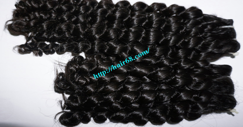 12 inch Weave Curly Hair Extensions 1