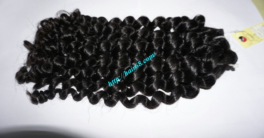 12 inch Weave Curly Hair Extensions 2