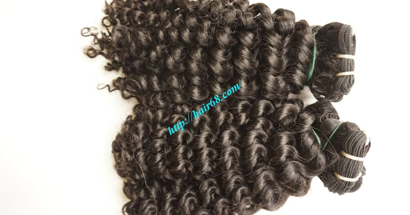 12 inch Weave Curly Hair Extensions 3